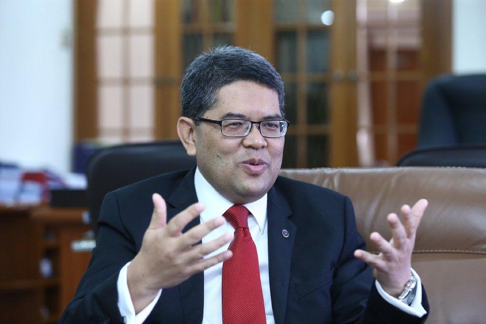 KUALA LUMPUR 20 SEPTEMBER 2017.  Penolong Gabenor Bank Negara Malaysia, Marzunisham Omar. NSTP/MUHD ZAABA ZAKERIA